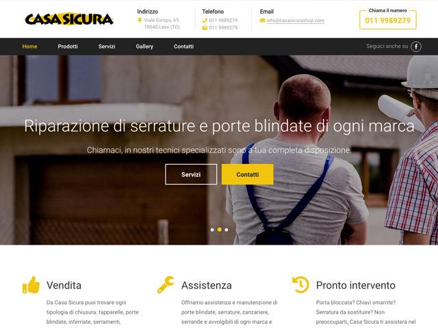 Web agency a torino siti web seo app ios e android - App casasicura ...